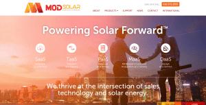 MODsolar Powering Solar Forward