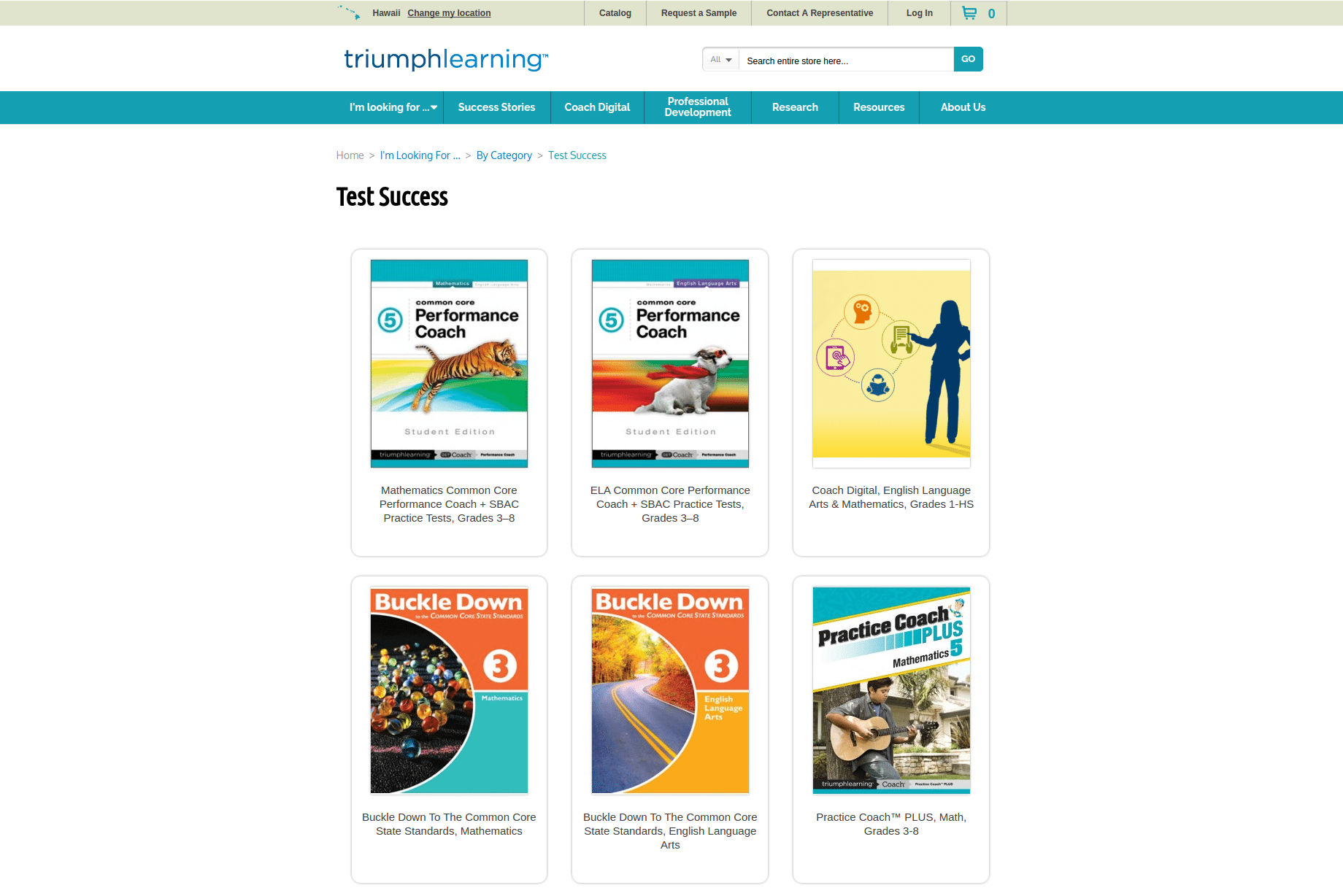Category Page-–-TriumphLearning