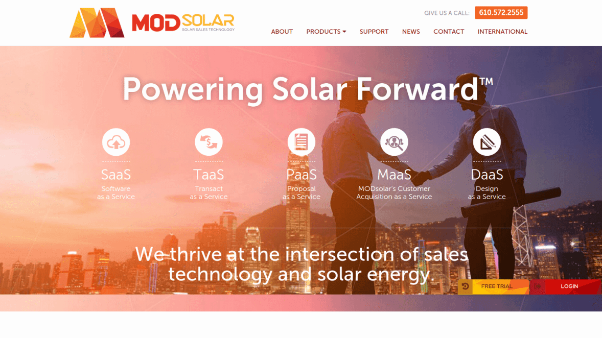 Homepage _of_MODsolar