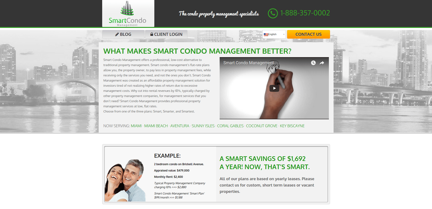 Smart-Condo-Management-Homepage