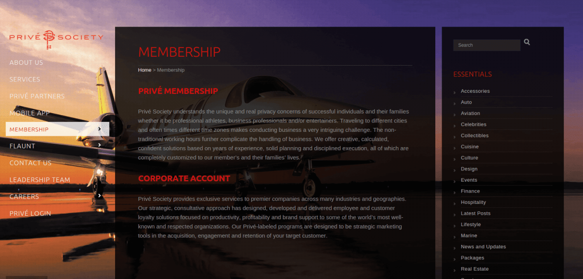 PriveSociety_Membership