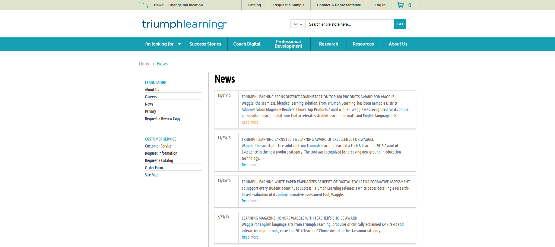 News-–-TriumphLearning